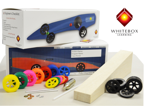 CO2 DRAGSTER - Kits, Parts, and Accessories - WhiteBox